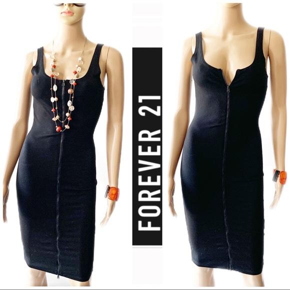 Forever 21 Dresses & Skirts - 💃🏽❤️ Forever 21 Black Bodycon Dress Size S